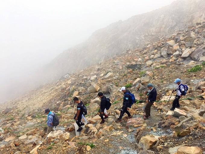 「山雅登山2017 Go!御嶽山!!」開催報告